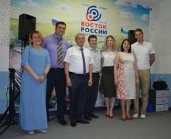 На радиостанции «Восток России» состоялась передача, посвященная проблеме загрязнения территорий края отходами производства и потребления
