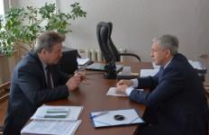 И. Чесницкий встретился с главой Горненского городского поселения Солнечного муниципального района и провел личный прием граждан