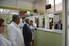 Встречи с представителями ветеранской организации и коллективом лечебного учреждения п. Солнечный провел Уполномоченный 7 апреля текущего года