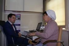 Посетители передвижного клинико-диагностического центра «Терапевт Матвей Мудров» получают бесплатную юридическую помощь