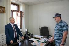 Следственный изолятор № 2 проверил Уполномоченный по правам человека в Хабаровском крае