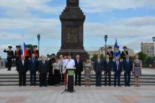 Уполномоченный по правам человека в Хабаровском крае принял участие в торжественном мероприятии, приуроченном к празднованию Дня России