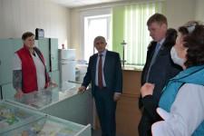 Уполномоченный по правам человека в Хабаровском крае Игорь Чесницкий посетил поселок Кукан в Хабаровском районе
