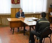 Уполномоченный проверил условия отбывания наказания в исправительной колонии № 3